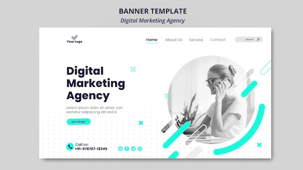 Digitale marketingbureau banner