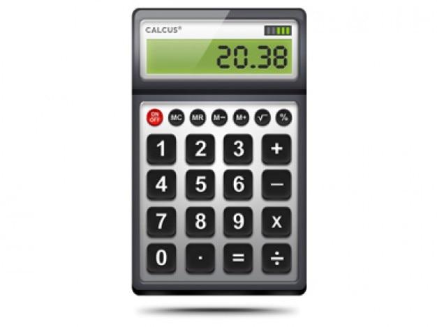 Digitale rekenmachine icoon