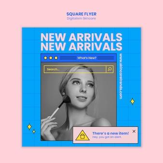 Digitalisme huidverzorging flyer