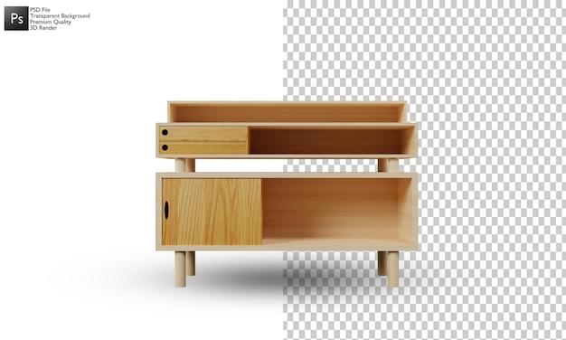 Diseño 3d de la ilustración del aparador