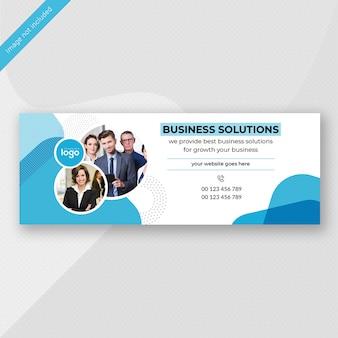 Diseño de banner de negocios