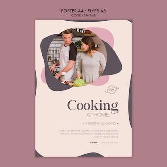 Diseño de carteles de cocina en casa