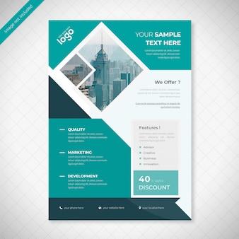 Diseño de folleto empresarial