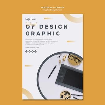 Diseño gráfico de plantilla de banner