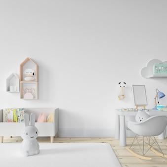 Diseño de habitación interior de guardería