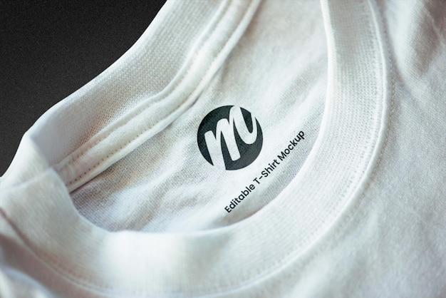 Diseño de maqueta de camiseta premium