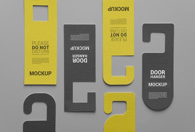 Diseño de maqueta de colgador de puerta