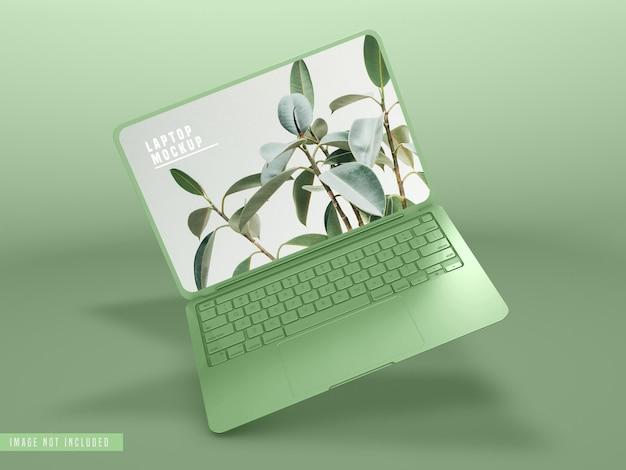 Diseño de maqueta de computadora portátil psd