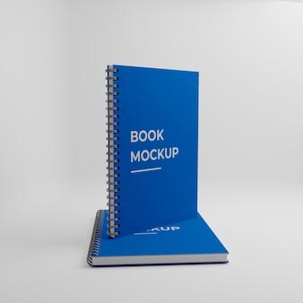 Diseño de maqueta de cuaderno de tapa dura