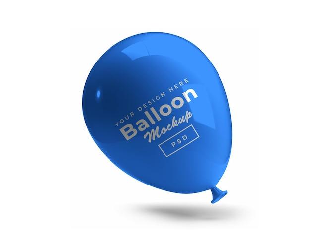Diseño de maqueta de globo 3d