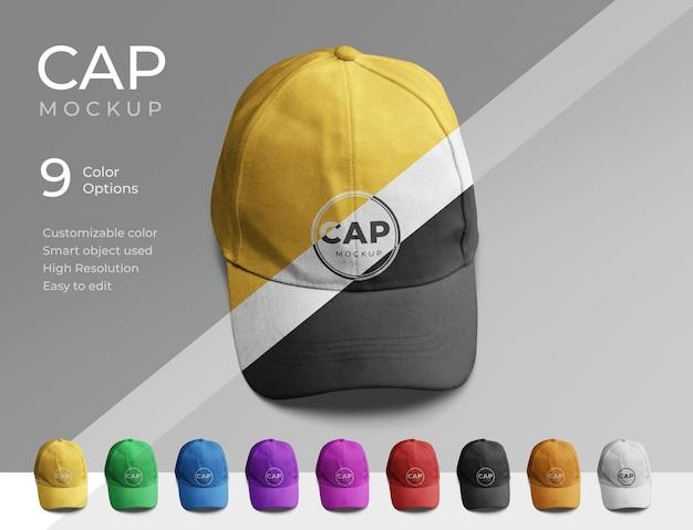 Diseño de maqueta de gorra