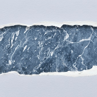 Diseño de maqueta de papel de mármol rasgado