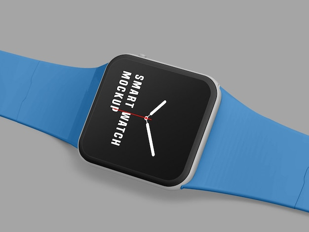 Diseño de maqueta de reloj inteligente psd