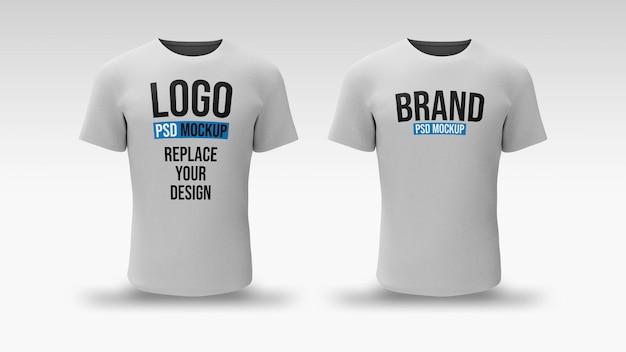 Diseño de maqueta de renderizado 3d de camiseta