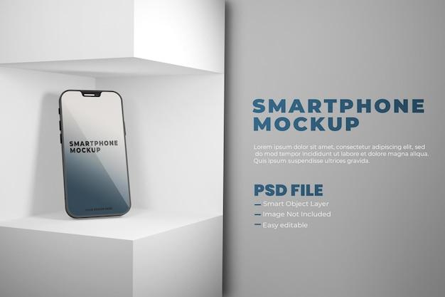Diseño de maqueta de teléfono inteligente