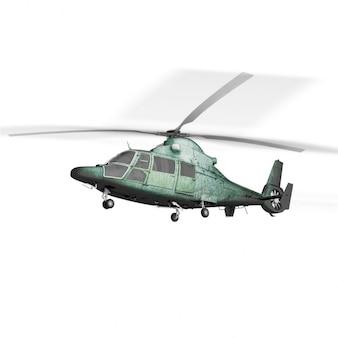 Diseño de mock up de helicóptero
