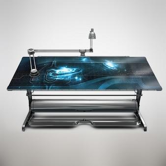 Diseño de mock up de mesa