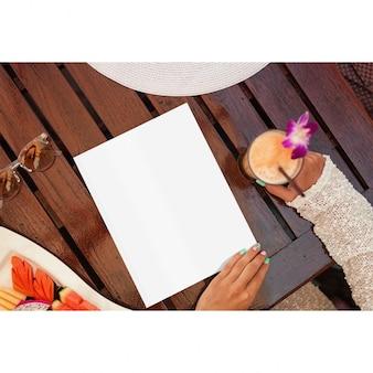 Diseño de mock up de página