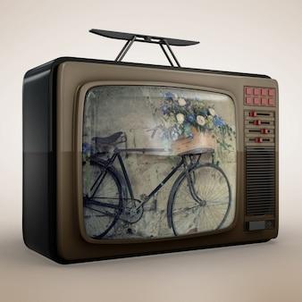 Diseño de mock up de televisión