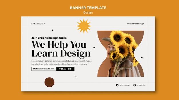 Diseño de plantilla de diseño de banner