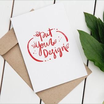 Diseño de plantilla de tarjetas