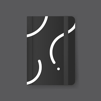 Diseño de portada de revista maqueta
