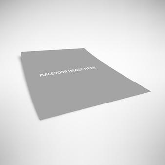Diseño de presentación de cartel