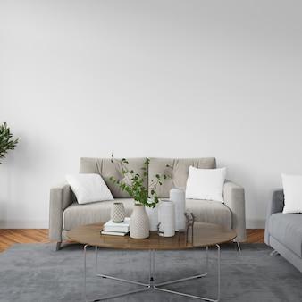 Diseño de sala de estar interior