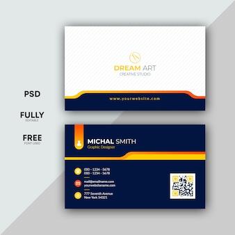 Diseño de tarjeta profesional
