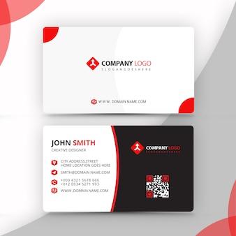 Diseño de tarjetas de visita psd