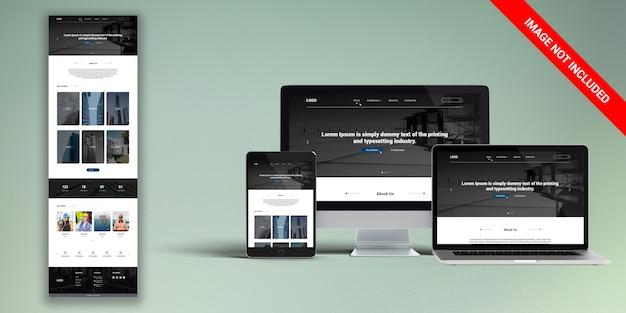 Diseño web de arquitectura