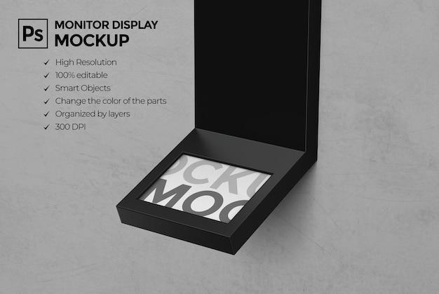 Display standaard mockup ontwerp