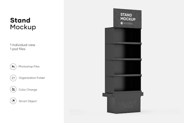 Display standaard mockup