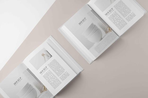 Disposición de la portada del libro de maquetas