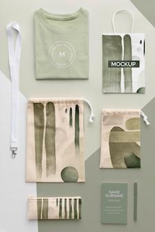 Disposición de productos de mercancías abstractas