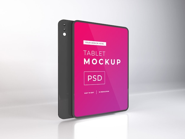 Dispositivo tablet realistico