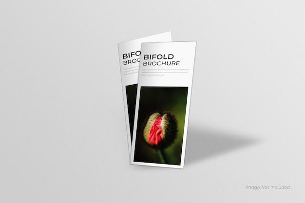 Dl bifold brochures mockup