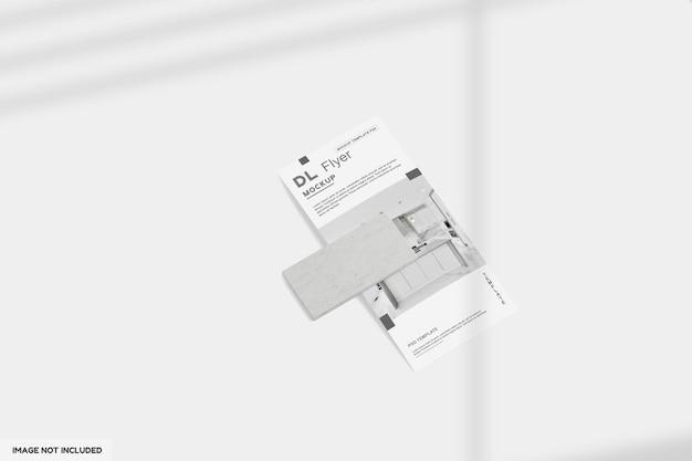 Dl flyer keuken mockup ontwerp