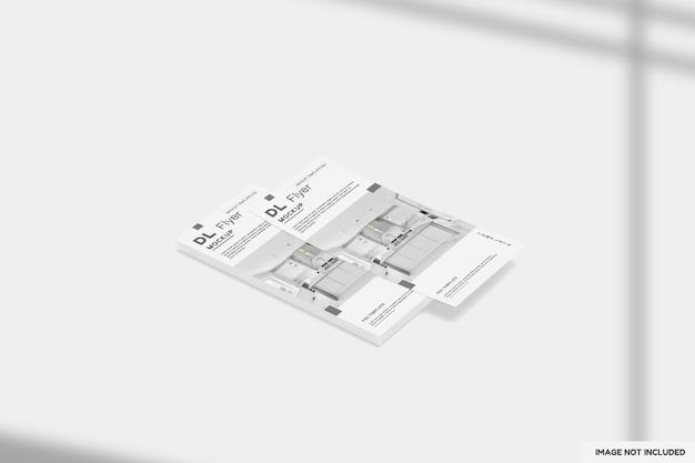 Dl flyer keuken mockup ontwerpen