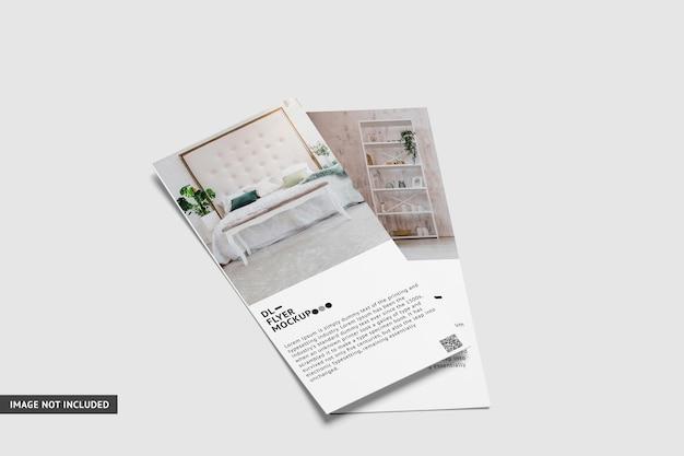 Dl flyer mockup ontwerp