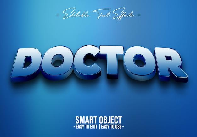 Doctor-tekst-stijl-effect