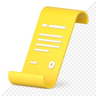 Document 3d-pictogram