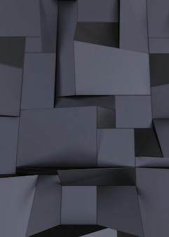 Donkere achtergrond met geometrische vormen