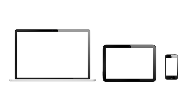 Driedimensionaal beeld van digitale apparaten