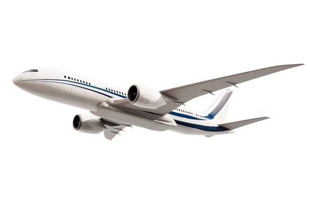 Driedimensionale imageof een vliegtuig