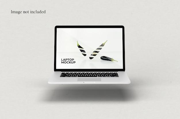 Drijvende laptopmodel