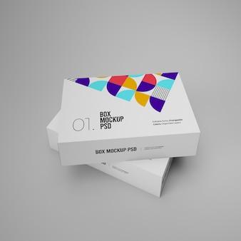 Due scatole mockup