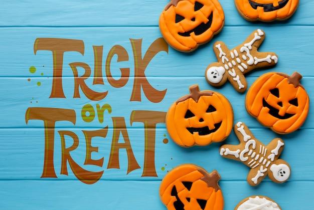 Dulces de halloween truco o trato