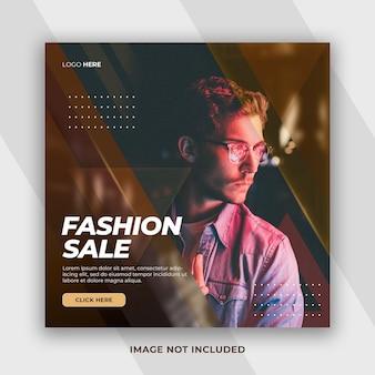 Dynamische stijl modecollectie black friday-verkoopaanbieding facebook-bericht