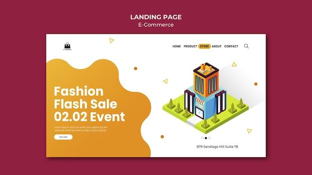 E-commerce websjabloon